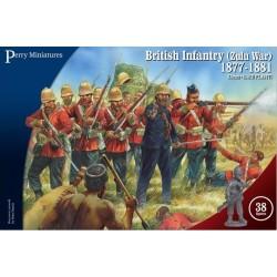 Anglo-Zulu War British Infantry