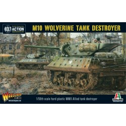 M10 Tank Destroyer-Wolverine Plastic Box Box