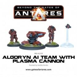 Algoryn AI Team With Plasma Cannon