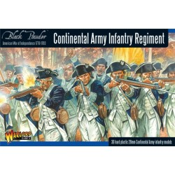 Continental Infantry Regiment Box - Plastic