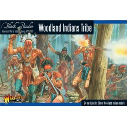 Woodland Indian Tribes Box - Plastic