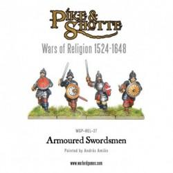 Armoured Swordsmen War of Religion Blister