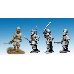 Afghan Irregular Swordsmen