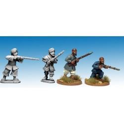 Afghan Irregulars with Rifles