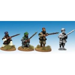 Afghan Irregulars with Muskets.