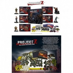 Complete Zombie bundle deal contains the full Project Z range Project Z - The Zombie Miniatures Game ? Zombie Horde Exp...