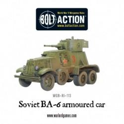 BA-6 Russian Armoured Car
