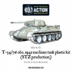Soviet T34-76 Medium Tank Plastic Box