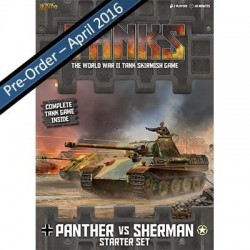 Tanks Starter Game - 1x Panther, 1x Sherman and enough to get you started. Add another tank and your order will be POST ...