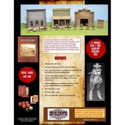 Desperado Deluxe Starter Set - includes Desperado Rules Starter Set booklet Photocopy-friendly reference sheet 12 f...