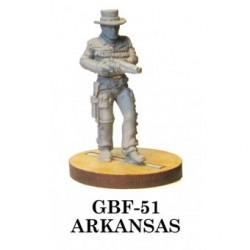 Arkansas, a bad shot who uses a sawed-off shotgun in a thigh holster, but can pierce a man square in the chest with the ...