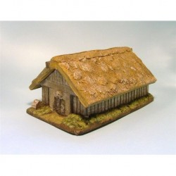 Mainly Military Painted Large saxon hut