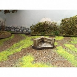 Mainly Military Painted Fence corners for 15-19 4
