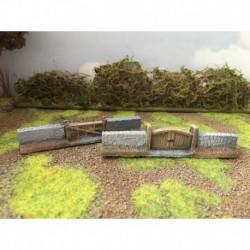 Mainly Military Painted Gate sections for 15-06,07 2