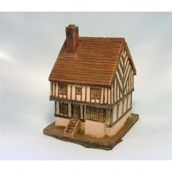 Mainly Military Painted Half timbered house