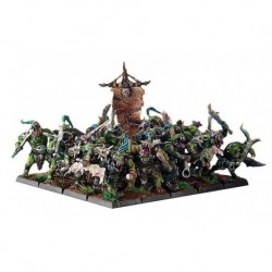 Mountain Orc Infantry This multi-part hard plastic set contains all you need to assemble 20 Mountain Orcs Infantry.