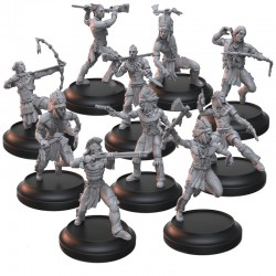 PLAINS WARRIORS AND STALKERS