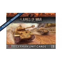 GERMAN UNIT CARDS