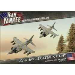 AV-8 HARRIER ATTACK FLIGHT - TEAM YANKEE - TUBX12