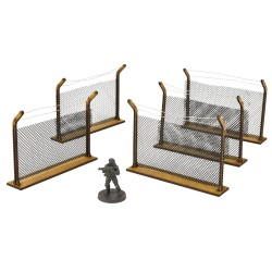 WALKING DEAD CHAIN LINK FENCES - ALL OUT WAR