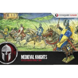 MEDIEVAL KNIGHTS: 28mm Plastic set