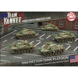 M60 Patton Tank Platoon For Team Yankee