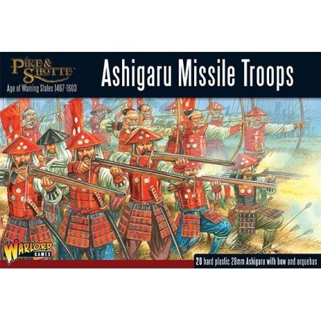 Ashigaru Missile Troops - Warlord Games