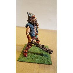 c28 GAMES WORKSHOP GIANT WITH CLUB 1980'S