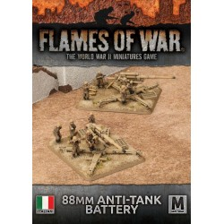 88mm ANTI-TANK BATTERY Italian