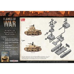 M14/41 or Semovente Platoon - Flames of War