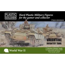15mm British Valentine Tank