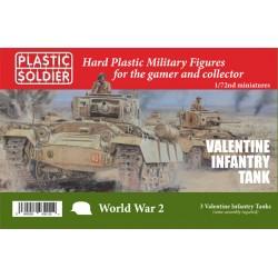 20mm Plastic Valentine Infantry Tank