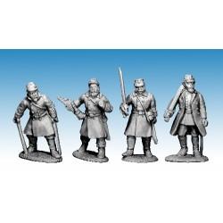 Danish Infantry Commanders 1864