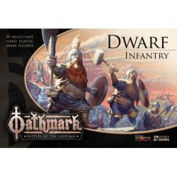 Dwarf Infantry - This box set contains enough parts for you to build 30 Dwarf Infantry.