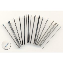 50mm long wire spears, diameter 0.8mm, with the ends flattened and shaped into spearheads. These 50mm long wire spears a...