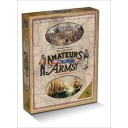 AMATEURS TO ARMS THE WAR OF 1812 BOARDGAME