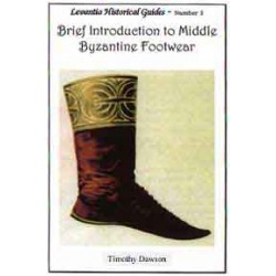 BRIEF INTRODUCTION TO MIDDLE BYZANTINE FOOTWEAR